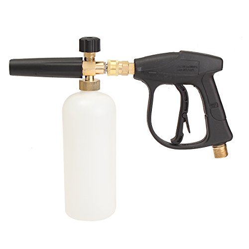 GOZAR 1L 3000PSI hogedrukreiniger sneeuw schuim lans riool borstel fittingen schoon pistool