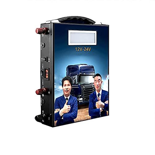 3000A 358000mAh Car Jump Starter Amplificador de batería Desplazamiento ilimitado Brújula Diesel gasolina Doble USB Carga rápida 12V-24V Paquete energía litio portátil Luz LED ( Color : 358000 )