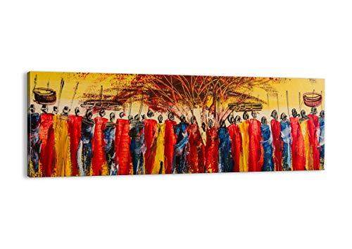 ARTTOR Cuadros Decoracion Salon - Lienzos Decorativos - Cuadros Modernos Baratos - Tríptico De Pared - Muchos Tamaños y Varios Temas Gráficos - AB140x50-3752