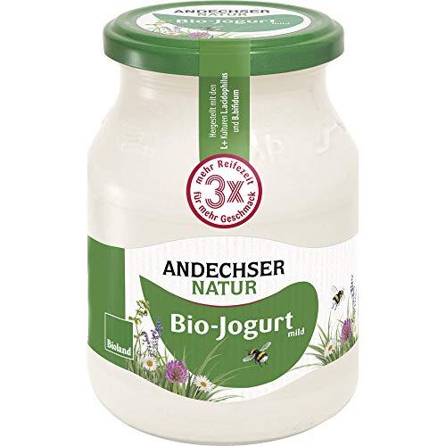 Andechser Natur Bio Bio Jogurt mild 3,7% (6 x 500 gr)