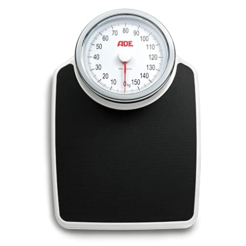 ADE M308800 Professional Medical Mechanical Scale. Precise up to 160kg. Increments of 500gr. Anti-Slip Surface. Classic Design. Metal XL
