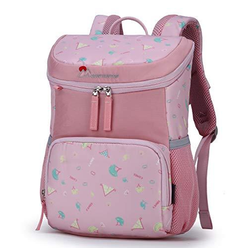 MOUNTAINTOP Kinderrucksack Schultasche Kinder Tagesrucksack Kleiner Freizeitrucksack mit Brustgurt für Kita Kindergarten Vorschul Wanderungen, 23 x 12x 34cm