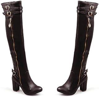 8567008dc Amazon.es: Sobre la rodilla - Botas / Zapatos para mujer: Zapatos y ...