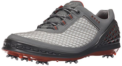 ECCO Men's CAGE Sport-M, Grey/Orange, 44 EU/10-10.5 M US