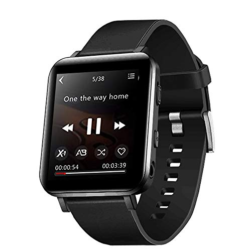 CCHKFEI Reloj MP3 con Bluetooth de 16GB, Reproductor de MP3