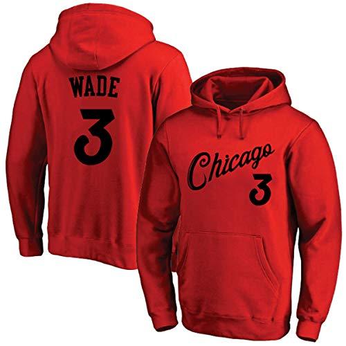 Mannen en vrouwen Wade dikke warme trui Classic Hooded Man met lange mouwen en capuchon Mens Hoodie Tracksuit Sweat Coat Casual Sportswear Sweaters, Red,L