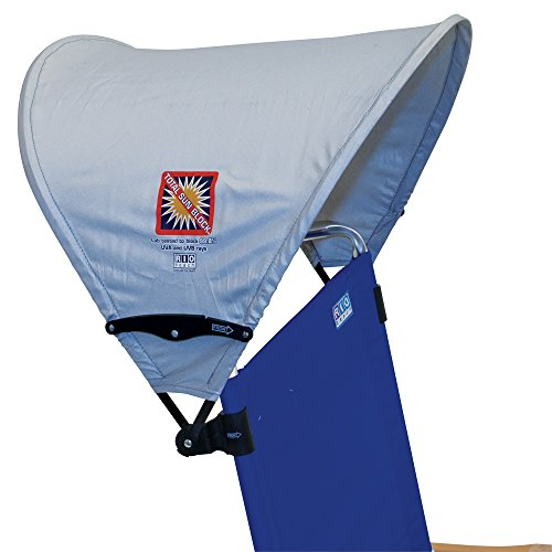 Rio Beach MyCanopy Personal Chair Sun Shade with Total Sun Block