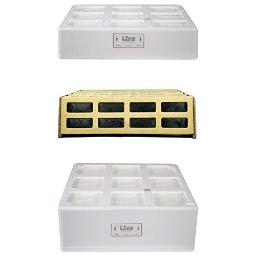 Filter-Monster.com Paquete de Filtro de Repuesto Compatible con IQAir PreMax, V5-Cell y HyperHEPA para purificador de Aire Serie HealthPro