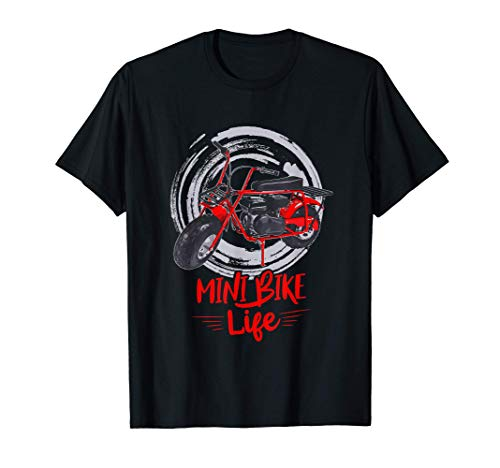 Mini Bike Mini Dirt Bike Mini Street Bike Mini Chopper Bike T-Shirt