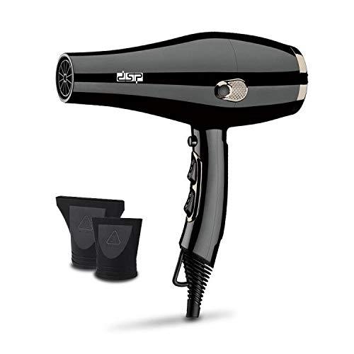 Sèche-cheveux domestique Multi-réglementation Industrie multifonctionnelle Salon de coiffure Sèche-cheveux Sèche-cheveux haute puissance-Noir et blanc avec motif