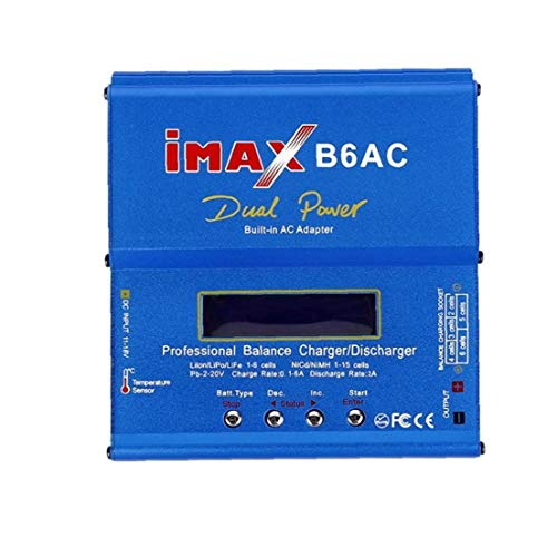 Odoukey Intelligente Batterie ausgeglichen Ladegerät Entlader IMAX B6AC AC-DC-Adapter US-Stecker t Slot UK
