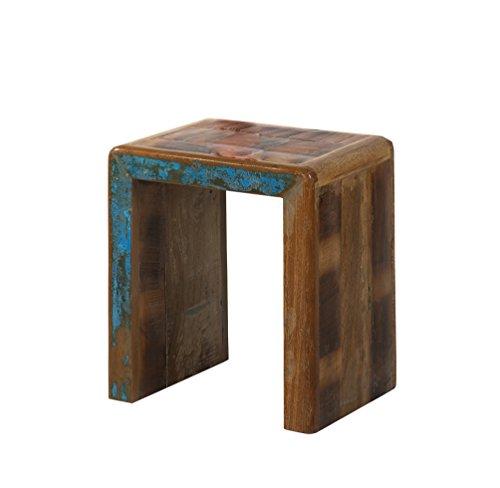Preisvergleich Produktbild SIT-Möbel Fridge 2692-98 2-Satz-Tisch,  recyceltes Altholz,  bunt lackiert
