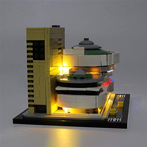 TMIL Juego De Luces LED Compatible con Lego 21035 (Lego Set No Está Incluido)
