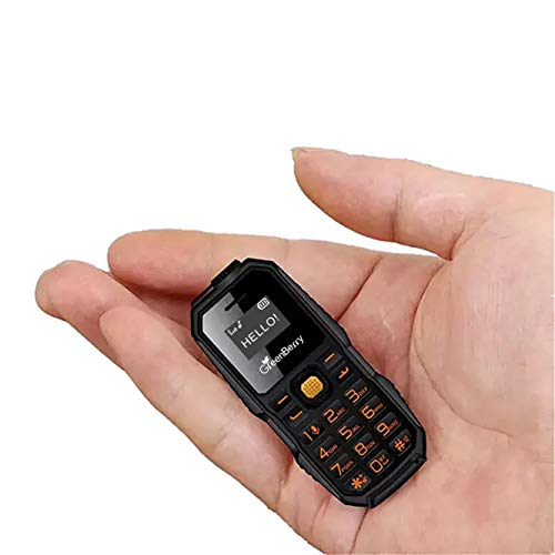 GreenBerry M3 Dual SIM Keypad Mini Phone-Smallest Phone in The World (Black)