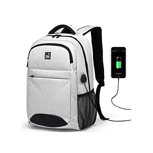 BWYLG Multifunctionele reis-rugzak voor scholieren, waterdicht, meerdere functies, grote capaciteit, 39,6 cm (15,6 inch) laptoptas