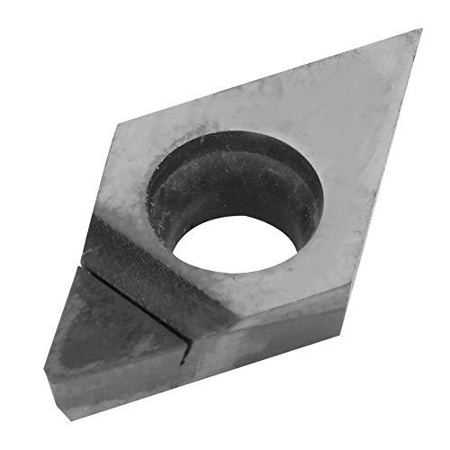 Inserto de hoja de diamante, herramienta de torneado de diamante de aleación de precisión de corte de diamante