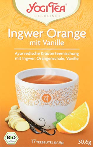 Yogi Tea Ingwer Orange mit Vanille Bio (1 x 30.6 g)