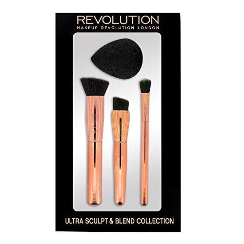 Makeup Revolution London Ultra Sculpt y Blend Collection Zestaw akcesoriów do makijażu 4 szt