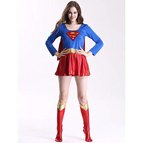 Disfraz De Cosplay De Halloween, Sexy Cloak, Superwoman Performance Costume,XL