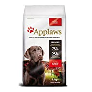 Applaws Natural, Complete and Grain Free Dry Dog Food for Adult and Large Breed Dogs, Chicken, 7.5 k...