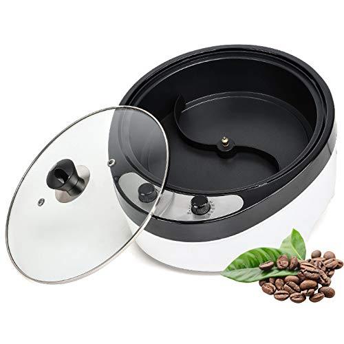 TTFGG Kaffeeröster Kaffeebohnen Kaffee-Röster, Home Elektrische Kaffeebohnen Röstmaschine, Geeignet Für Erdnuss/Mutter/Bohnenbraten, Einstellbare Temperatur