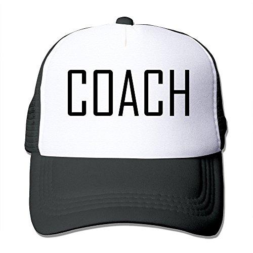 Hittings Unisex Coach Adjustable Trucker Cap Royalblue Black
