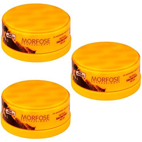 Morfose Aqua Gel-Wax 3 x 150ml (Extra Hair Control No:5)