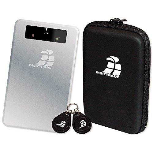 Digittrade RS256 1TB RFID Security externe Festplatte (6,4 cm (2,5 Zoll), 5400rpm, USB 3.0, 256-Bit AES Verschlüsselung, Anti-Schock)