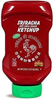 Huy Fong Sriracha Hot Chili Sauce Ketchup, 20oz Bottle (Pack of 12)