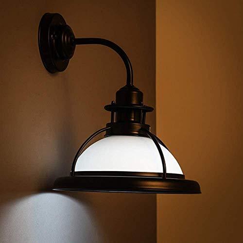 ZHLFDC Estilo retro Industrial dormitorio cabecera de la sala de iluminación apliques de la pared E27 Estudio de lectura de iluminación ligero de la pared del pasillo del restaurante en Mallorca Lugar