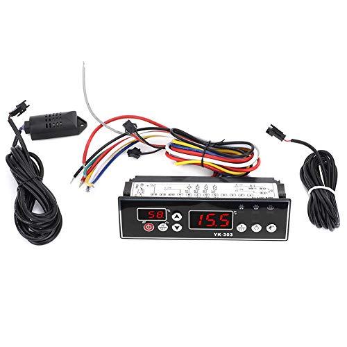 Controlador de temperatura y humedad LED dual que descongela un rendimiento estable para la fábrica para el hogar