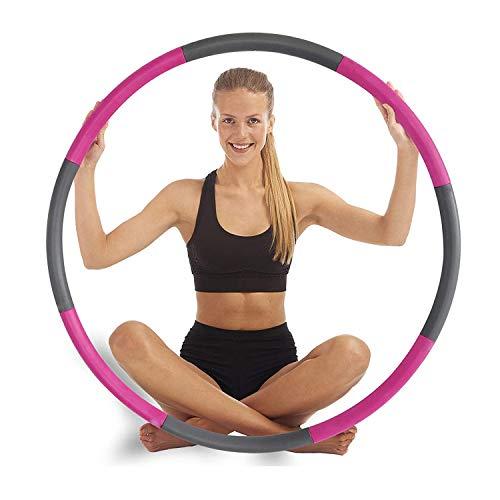Potok Fitnesskreis, Hoola Hoop Reifen für Fitnessübungen, Professionelle Hoola-Hoop-Reifen, Übung Fitness Hoop für Erwachsene, Gewichtsverlust Fitness-Training