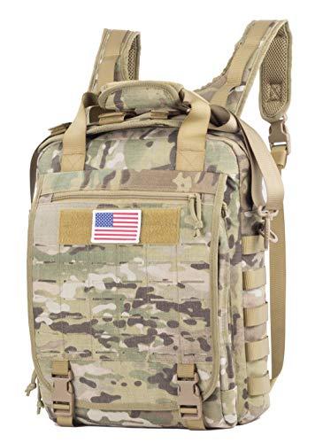 Military Camouflage Laptop Backpack Messenger Bag College School Backpack US Original Fabric