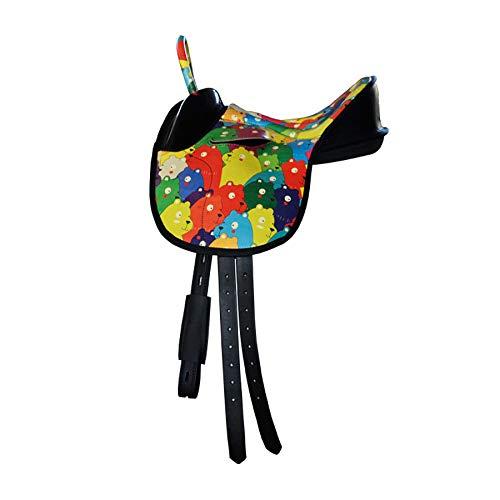 GCSEY Pony De Una Silla Infantil De Una Silla Arnés Ultraligero De Una Silla Confort Absorción De Choque Velocidad De Una Silla
