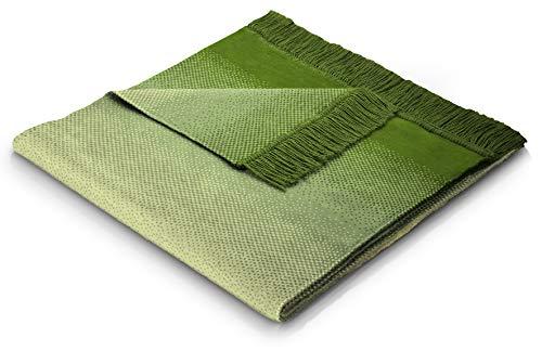 biederlack Sofa 50x200 cm I Sesselschoner Ombre Sofaschoner 60% Baumwolle, 40% dralon I Made in Germany, grün, hellgrün