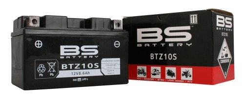 BS Battery 300641bt7b de 4AGM SLA Batería de moto, color negro