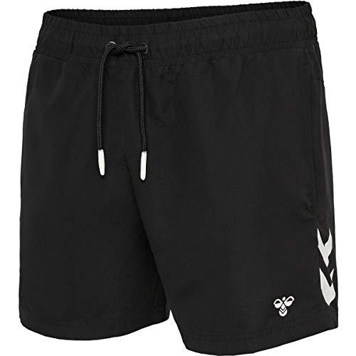Hummel Herren HMLRENCE Board Shorts, Schwarz, L