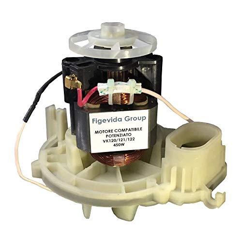 Motore Compatibile Per Vorwerk Folletto Potenziato 450 W per VK 120/121/122 - Garanzia 24 Mesi Figevida Ufficiale
