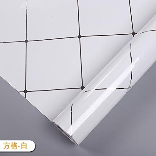 PVC verticale strepen zelfklevende verf muurstickers behang, olie waterdichte kast koelkast kast keuken kast muurstickers A