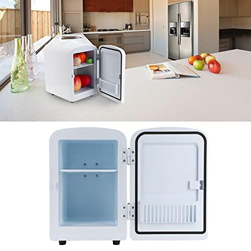 Rodipu Refrigerador para automóvil, refrigerador de Doble Uso fácil de Transportar para el hogar para el automóvil