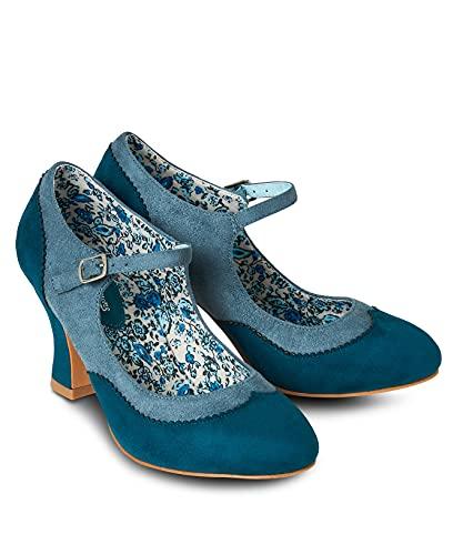 Joe Browns Vintage Flare Shoes, Scarpa Mary Jane Donna, Foglia di t, 39 EU