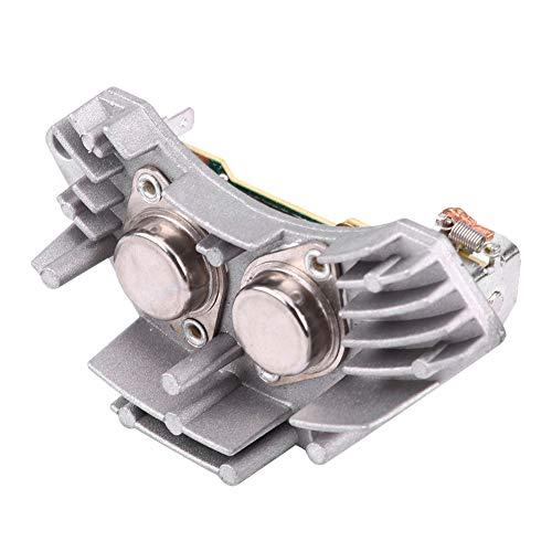 Hlyjoon Resistencia de Motor del Soplador del Calentador Aire Acondicionado 644178 Resistencia del Ventilador del Calentador Controlador de Velocidad para Socio Saxo Xantia XM Xsara ZX(Amarillo 100)