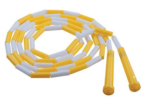 Champion Sports PR8 Plastic Segmented Jump Rope, 8'