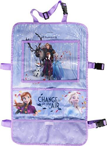Disney Frozen 10273 - Protector de Asiento (2 Compartimentos), Color Azul