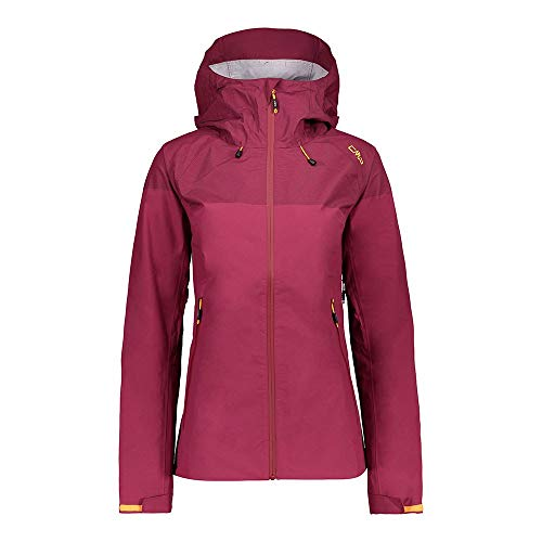 CMP Damen Technische Jacke mit Climaprotect-Technologie 10.000, Goji, D38, 30Z5926