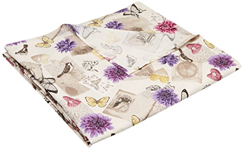 Martina Home Antique Foulard Multiusos, Tela, Lila, 300 x 270 cm