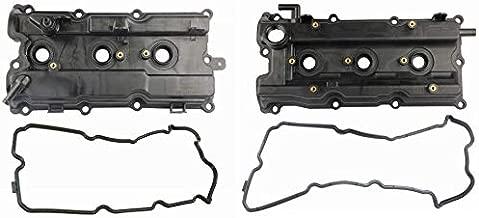 MOSTPLUS Engine Valve Cover Set For 02-07 I35 Altima Maxima Murano 3.5L 264-985 264-984 (Set of 2)