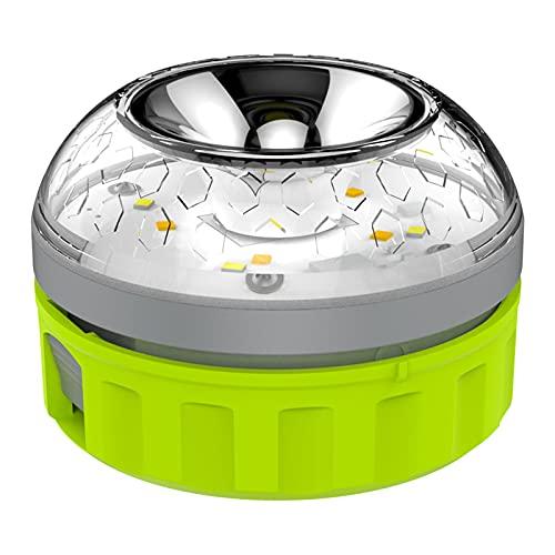 WARNING16 - Luz de Emergencia Coche homologada por la DGT. Baliza Emergencia v16 autorizada y Recomendada para sustituir triángulos de Emergencia. Luz autónoma alimentada con una Pila.