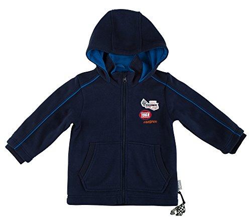 Sigikid Jungen Fleece, Mini Jacke, Blau (Peacoat 260), 104