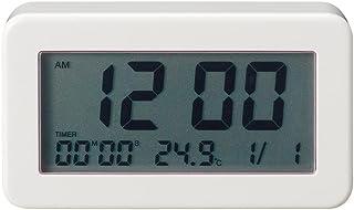 無印良品 デジタルバスクロック 幅93×奥行26×高さ53mm 型番:MJ-DBC1 61152516